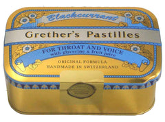 Grether's Pastilles for Throat and Voice Sugarfree Blackcurrant