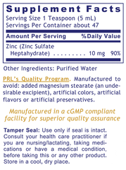 Premier Research Labs Liquid Zinc Assay