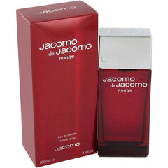 Description Of Jacomo De Jacomo Rouge Cologne:  Jacomo De Jacomo Rouge Cologne by Jacomo, The sensual nature of Jacomo De Jacomo Rouge cologne makes it a must-have for date nights . It launched in 2002. Its composition is rich and vibrant, and it begins with notes of green mint, citruses and cardamom. The middle part is comprised of honeysuckle, lily of the valley, sandalwood and cedar. The base unifies all these layers with scents of musk, praline, Madagascar vanilla, tonka accords and patchouli.