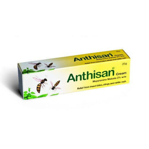 Anthisan Bite & Sting Cream, Pesky Pests / Insects - New London Pharmacy