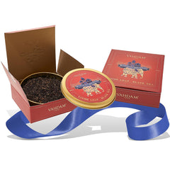 Vahdam Maharaja Breakfast Gift Set- 1 Tin Caddy