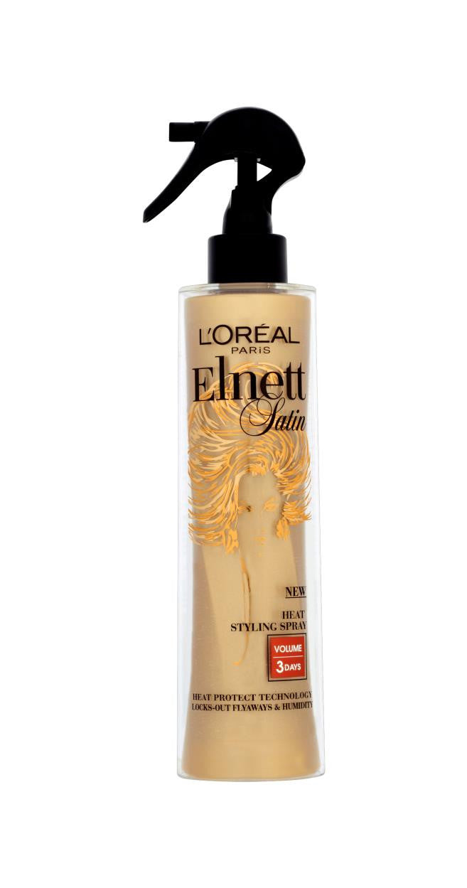 Elnett Heat Protect Styling Spray Volume
