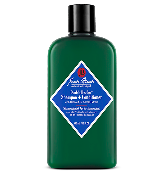 Jack Black Double-Header® Shampoo + Conditioner with Coconut Oil & Kelp Extract 16oz