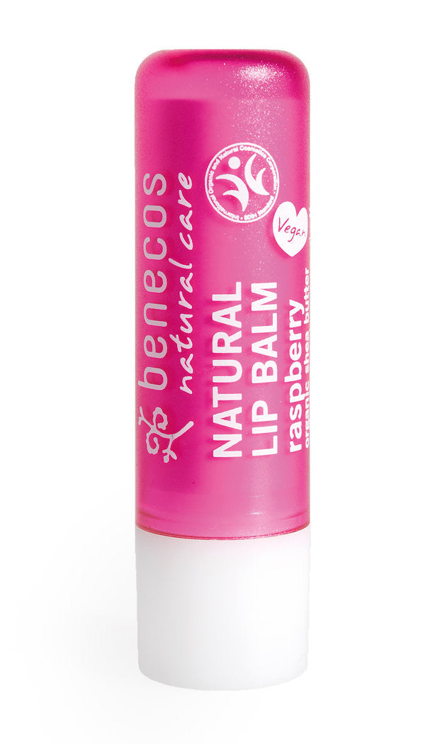 Benecos Natural Lip Balm Raspberry | New London Pharmacy
