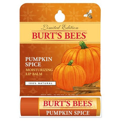 Burt's Bees Pumpkin Spice Moisturizing Lip Balm | New London Pharmacy