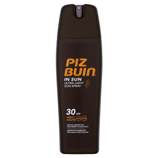 Piz Buin In Sun Ultra Light Spray SPF 30, Sunscreen (Skincare) - New London Pharmacy