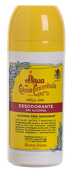 Alvarez Gomez Agua de Colonia Concentrada Roll-on Deodorant without Alcohol