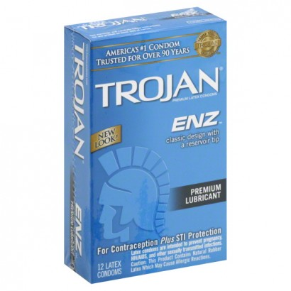 Trojan ENZ Lubricated Condoms