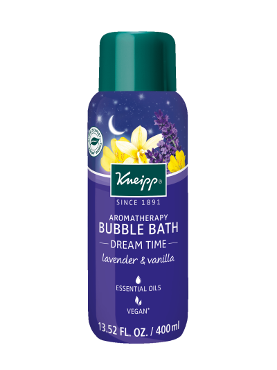 "Kneipp LAVENDER & VANILLA AROMATHERAPY BUBBLE BATH - ""DREAM TIME"""