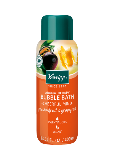 "Kneipp PASSIONFRUIT & GRAPEFRUIT AROMATHERAPY BUBBLE BATH - ""CHEERFUL MIND"""