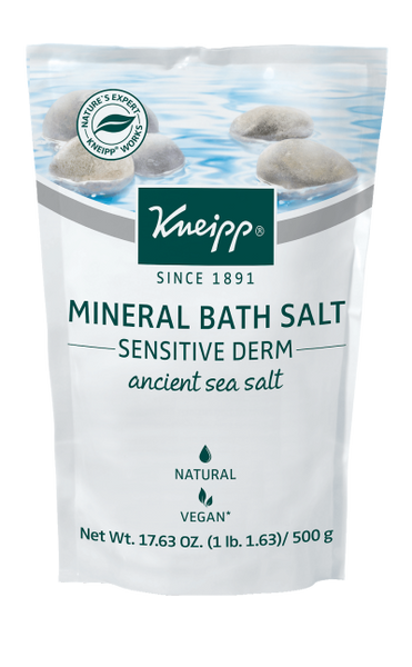 "Kneipp ANCIENT SEA SALT MINERAL BATH SALT - ""SENSITIVE DERM"""