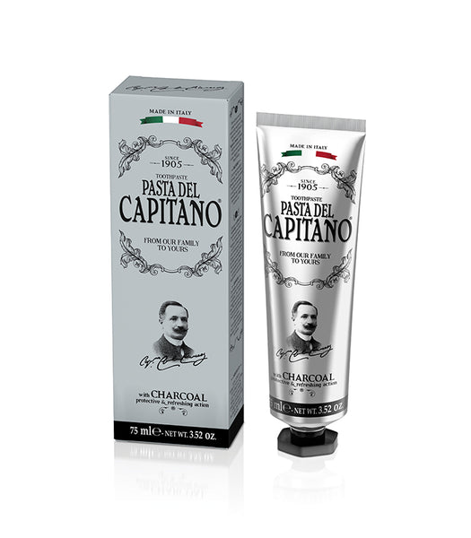 Pasta Del Capitano Toothpaste with Activated Charcoal