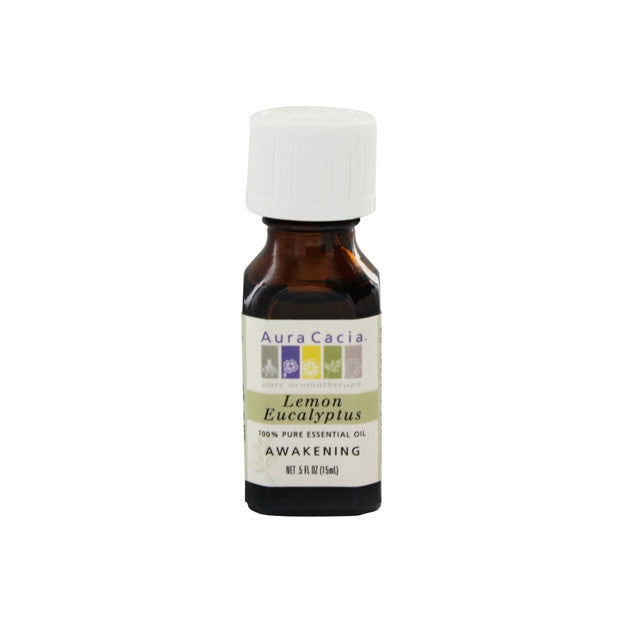 Aura Cacia Lemon Eucalyptus 100% Pure Essential Oil (Awakening), Essential Oils - New London Pharmacy