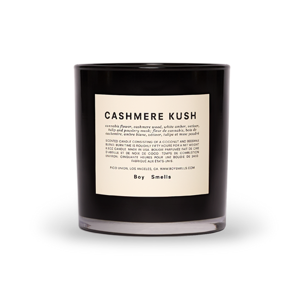 Boy Smells Cashmere Kush Scented Candle
