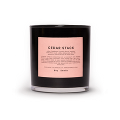 Boy Smells Cedar Stack Scented Candle | New London Pharmacy