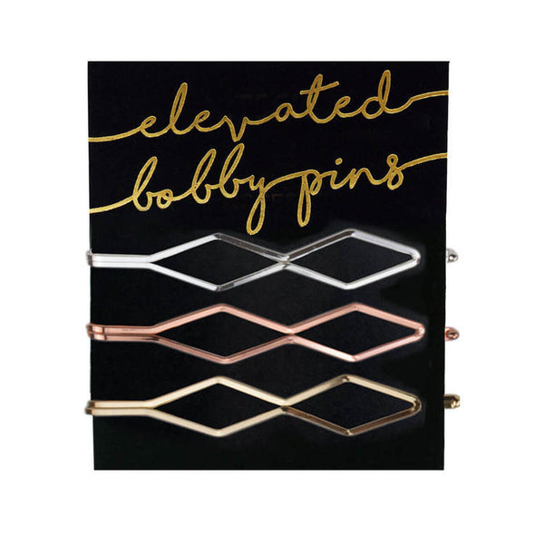 Kitsch Diamond Bobby Pins