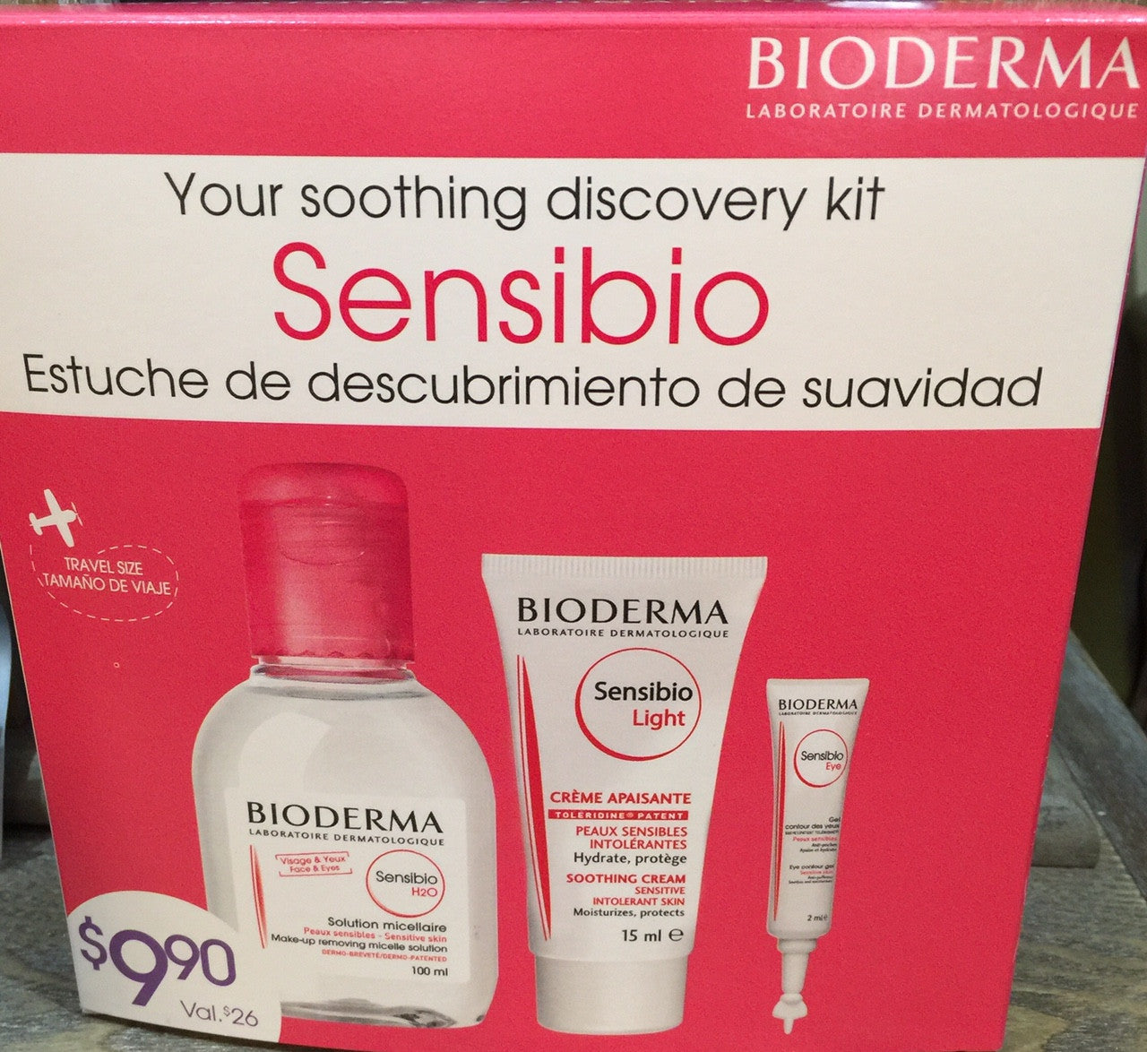 Bioderma Your Soothing Discovery Kit Sensibio | New London Pharmacy