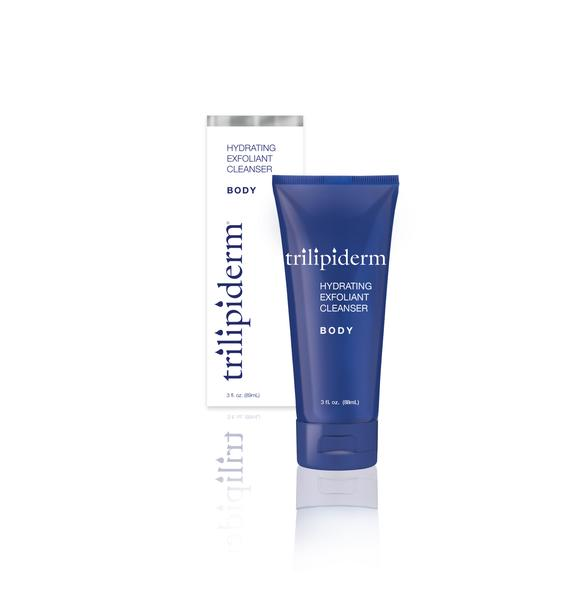 Trilipiderm Hydrating Exfoliant Cleanser Body