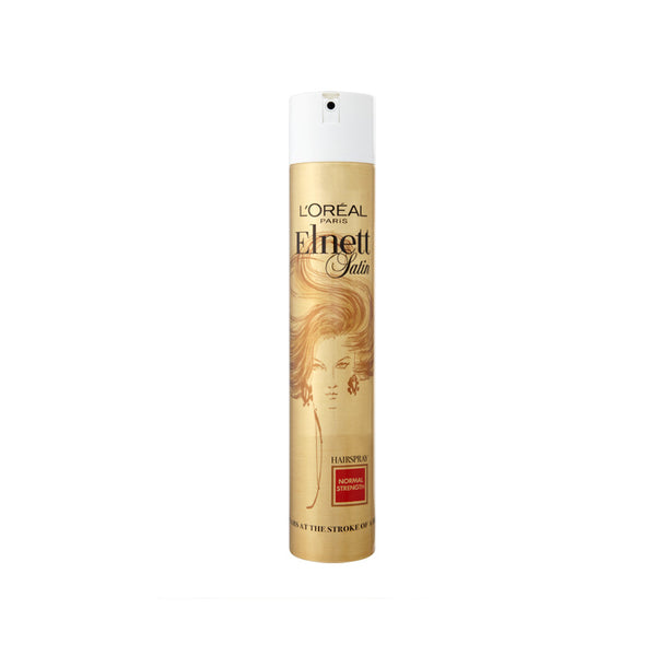 L'Oreal Elnett Satin Normal Strength Hair Spray for Unisex