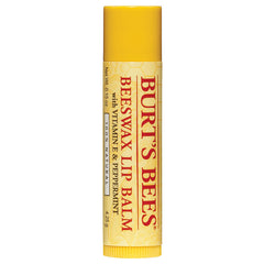 Burt's Bees Beeswax Lip Balm with Vitamin E & Peppermint, For the Lips - New London Pharmacy