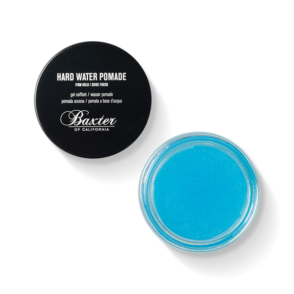 Baxter Hard Water Pomade Firm Hold Shine Finish | New London Pharmacy
