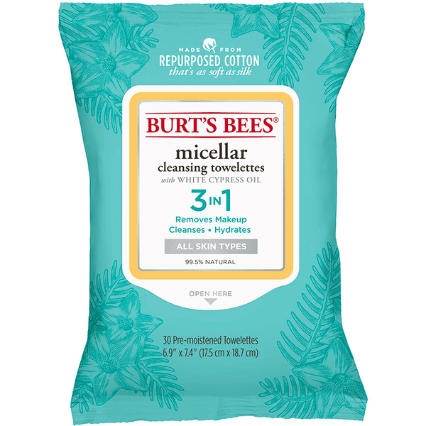 Burt's Bees Micellar Cleansing Towelettes 3 in 1