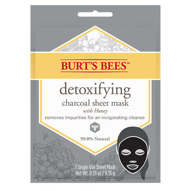 Burt's Bees Detoxifying Charcoal Sheet Mask