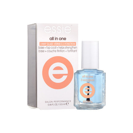 Essie All in One 3-Way Glaze, Top/Base Coats (Nails) - New London Pharmacy