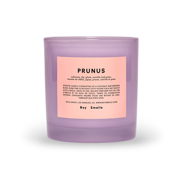 Boy Smell Pride Prunus Candle