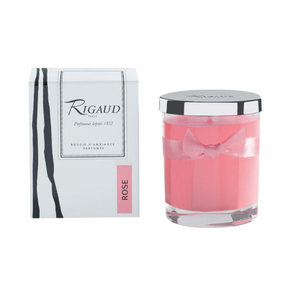 Rigaud Rose Candle