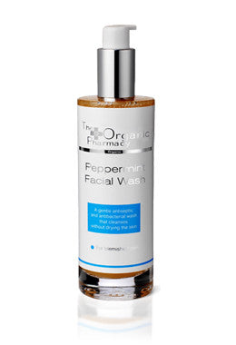 The Organic Pharmacy Peppermint Facial Wash, Blemish & Acne (Skincare - Facial Cleansers) - New London Pharmacy