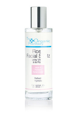 The Organic Pharmacy Rose Facial Spritz Toner