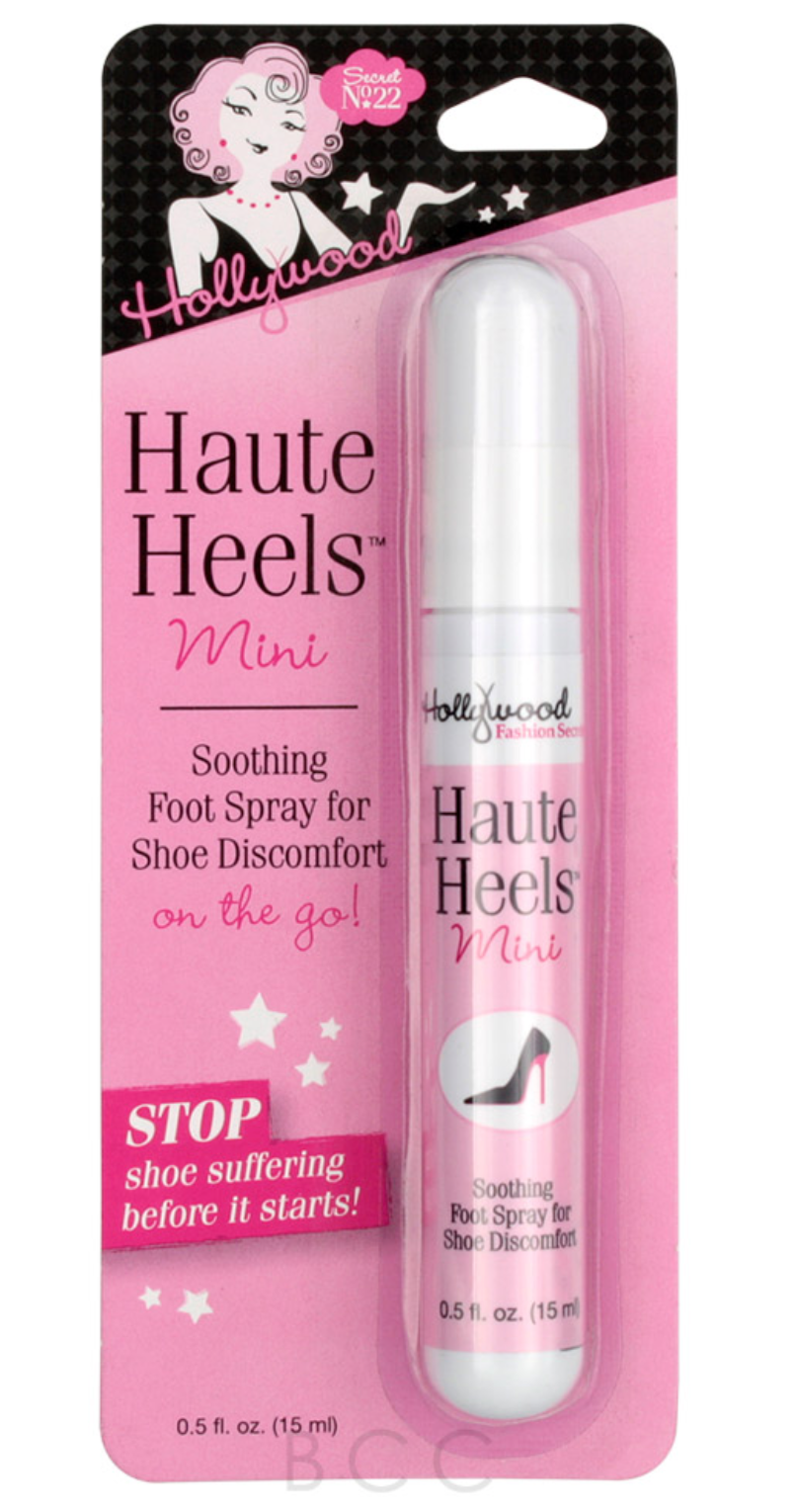 Shop Haute Heels Mini Soothing Foot Spray 0.5 oz. at  New London Pharmacy. Relieve the pain from heels and flats. Free shipping on all orders of $50.00