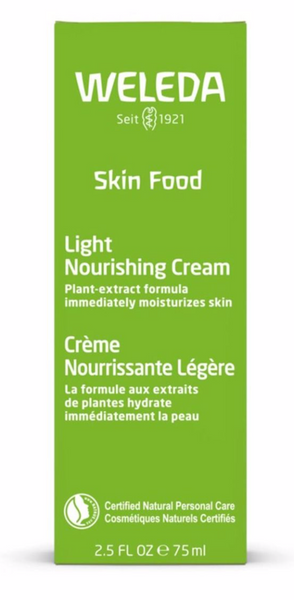 Weleda Skin Food Light Nourishing Cream 2.5oz