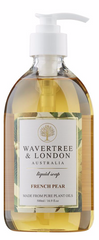 Shop WAVERTREE & LONDON LIQUID SOAPS (5 Scents) 500ml /16.9 fl.oz. at New London Pharmacy. 100% plant oils – sustainable palm and palm kernel oils, organic shea butter and vegetable glycerin. No tallow (animal fats or detergents), No SLS, No Parabens, No detergents or harsh Chemicals. Just pure premium grade plant oils.