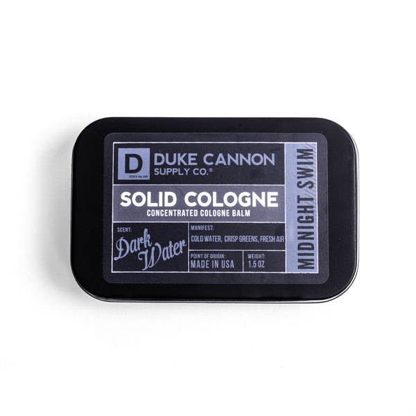 Duke Cannon Solid Cologne Midnight Swim