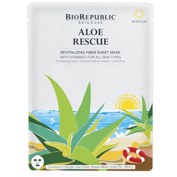 BioRepublic Aloe Rescue Revitalizing Fiber Sheet Mask