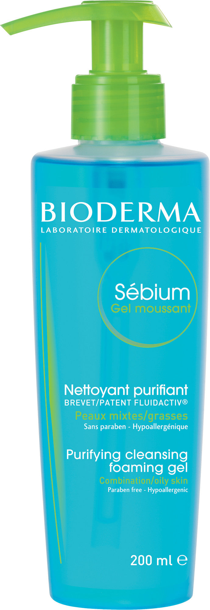 Bioderma Sebium Purifying Cleansing Foaming Gel - Sébium Gel Moussant 200 ml