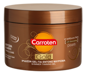 Carroten Gold Intense Shimmer Tanning Gel, Sunscreen (Skincare) - New London Pharmacy