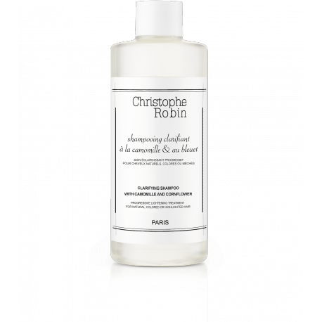 Christophe Robin Clarifying Shampoo with Chamomile and Cornflower