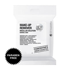 Comodynes Make-Up Remover Normal Skin Face & Eyes Towelettes, Facial Cleanser - New London Pharmacy