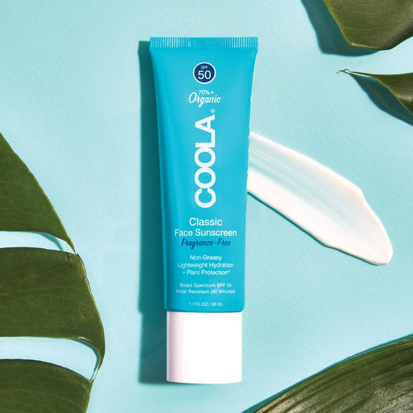 Coola Classic SunScreen SPF 50 - Fragrance Free- 50ml