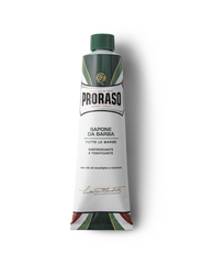 Proraso Shaving Cream in a tube (Green)