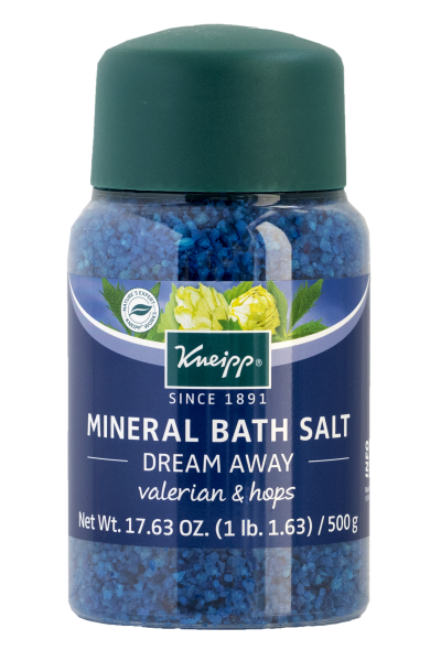 Kneipp Dream Away Mineral Bath Salt with Valerian & Hops