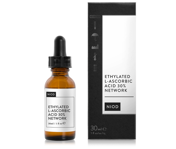 NIOD ETHYLATED L-ASCORBIC ACID 30% NETWORK