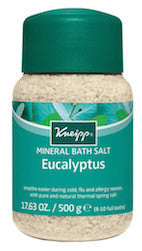 Kneipp Eucalyptus Cold & Sinus Relief Bath Salt