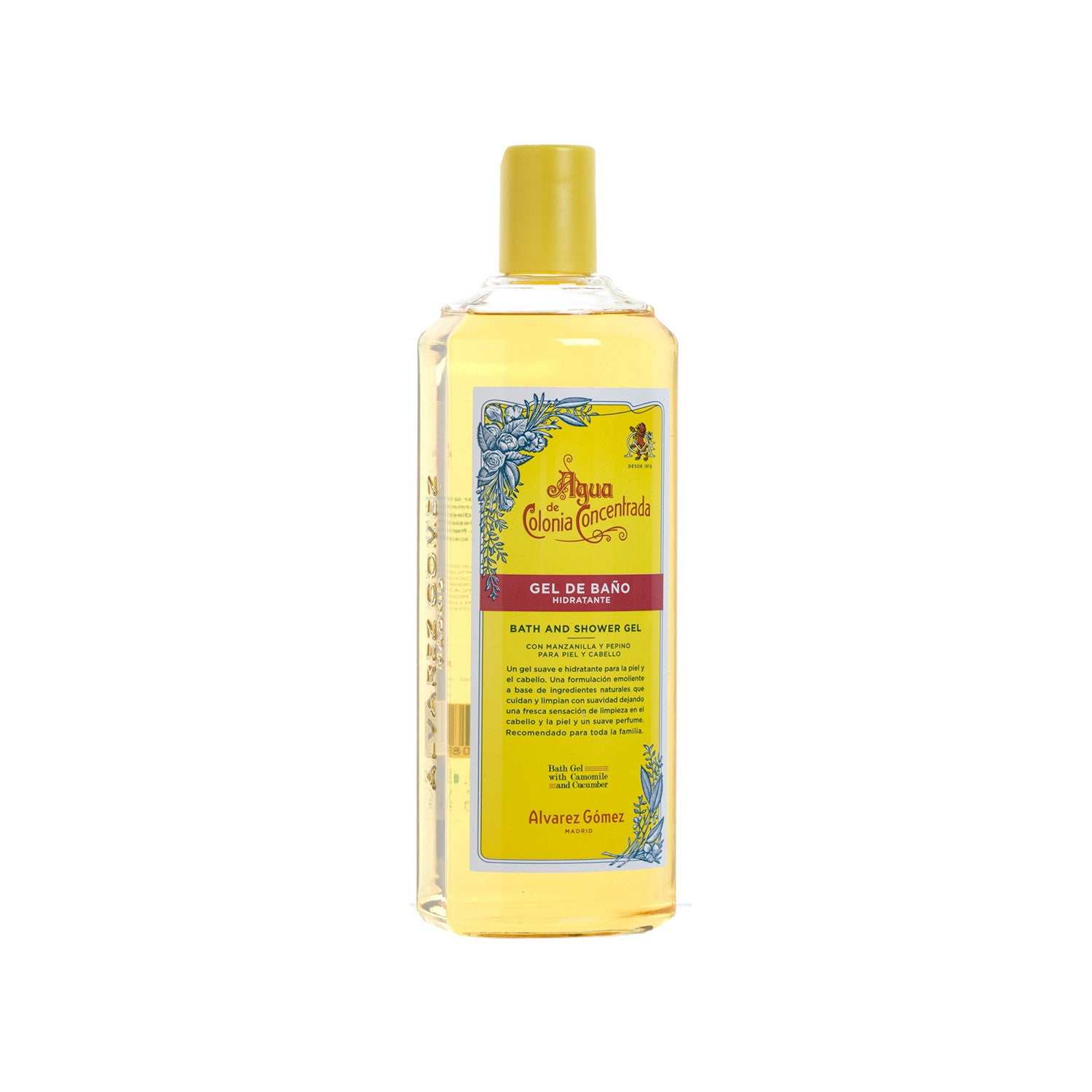 Alvarez Gomez Agua de Colonia Concentrada Bath and Shower Gel | New London Pharmacy