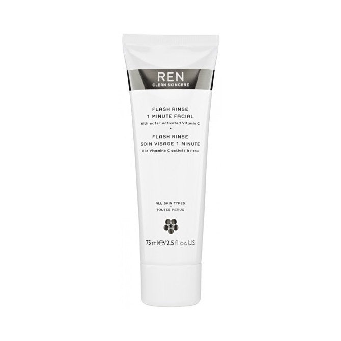Ren Flash Rinse 1 Minute Facial, Facial Masks - New London Pharmacy