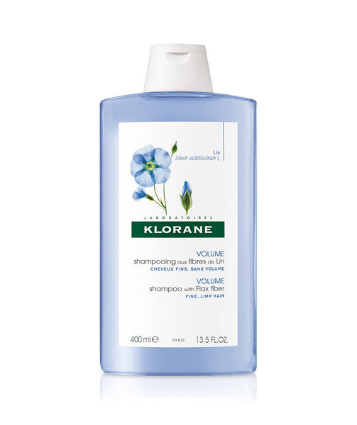 Klorane Shampoo with Flax Fiber for Fine, Limp Hair