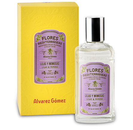 Alvarez Gomez Mediterranean Flowers Collection Lilac & Mimosa EDT